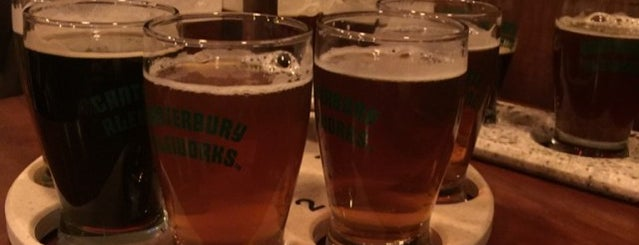 Canterbury AleWorks is one of New England Breweries.