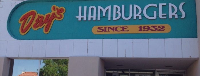 Day's Hamburgers is one of Las Cruces Food.