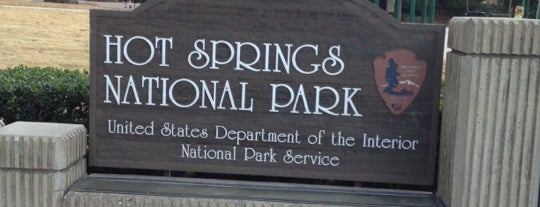 Hot Springs National Park is one of National Parks.
