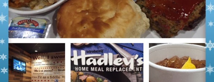 Hadleys Southern Kitchen is one of Ricky's Comfort Food Places.