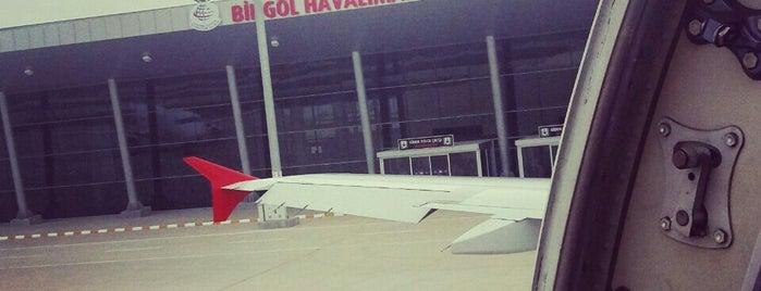 Bingöl Havalimanı (BGG) is one of Havalimanları.