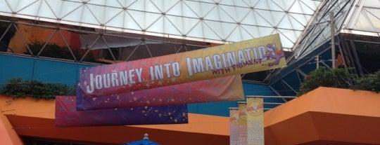 Imagination Pavilion is one of Walt Disney World - Epcot.