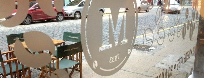 Café Martínez is one of Veggie BA.