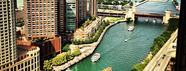 Chicago River is one of Chicago Skywalking.