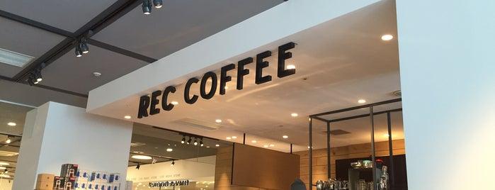 REC COFFEE is one of 大人が行きたいうまい店2 福岡.
