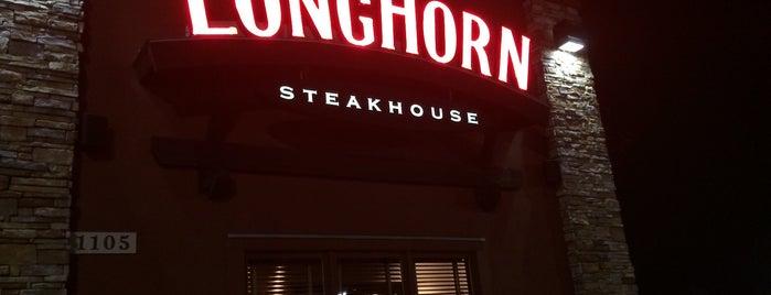 LongHorn Steakhouse is one of Restaurants visited.