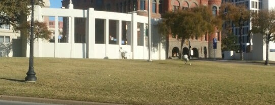 Dealey Plaza is one of The Great American Road Trip.