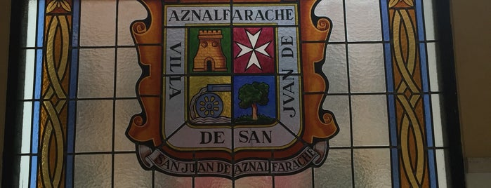 Ayuntamiento San Juan de Aznalfarache is one of Ayuntamientos Sevilla.