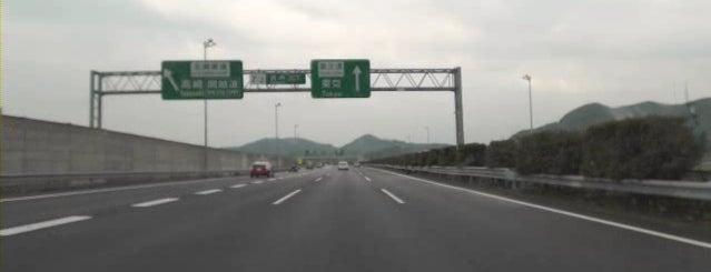岩舟JCT is one of 高速道路.