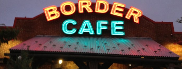 Border Cafe is one of Best Mexican Restaurants.