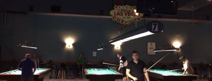 Las Vegas Cue Club is one of Vegas to do.