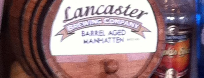 Lancaster Brewing Company is one of More breweries than you can shake a stick.