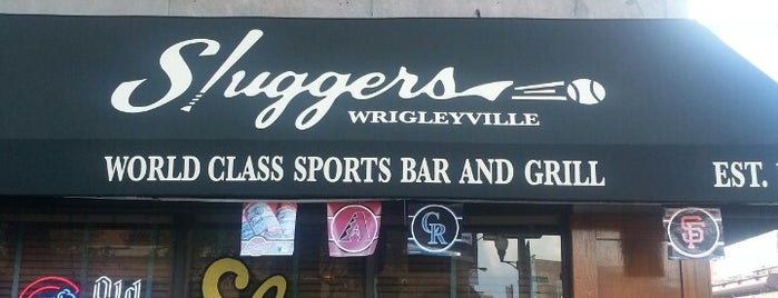 Sluggers World Class Sports Bar and Grill is one of Chicago Bulls Bars in Chicago.