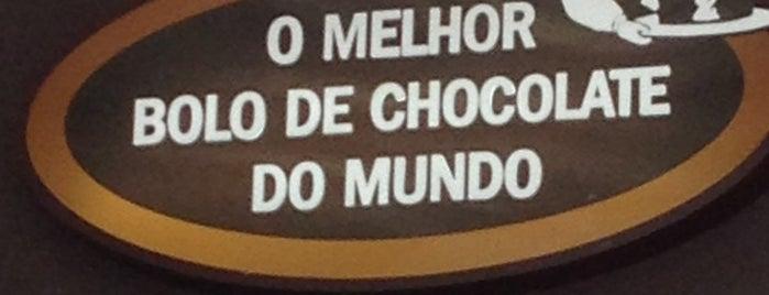 O Melhor Bolo de Chocolate do Mundo is one of Cafet./Padarias/Sorveterias.