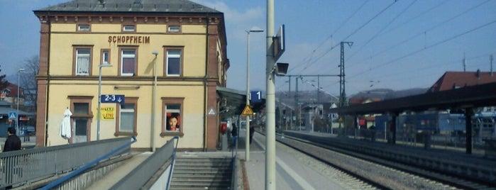 Bahnhof Schopfheim is one of Bahnhöfe DB.