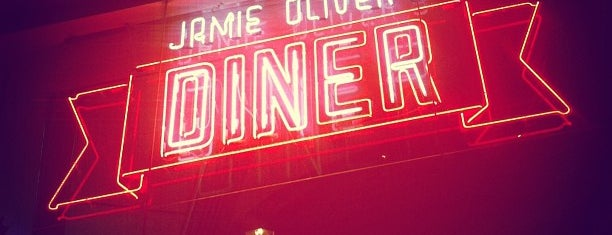 Jamie Oliver's Diner is one of Mola.
