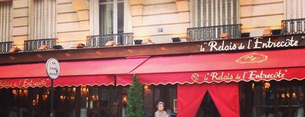 Le Relais de l'Entrecôte is one of เที่ยวช้อปปิ้ง Paris!.