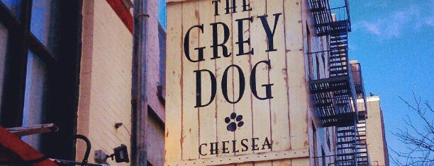 The Grey Dog - Chelsea is one of Coffee.