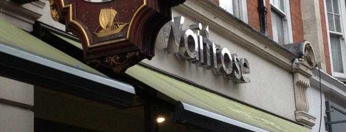 Waitrose is one of London.