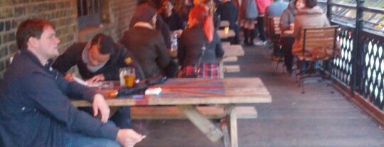 Lockside Lounge is one of London's Best Beer Gardens.
