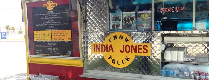 India Jones Chow Truck is one of Quick Bites.
