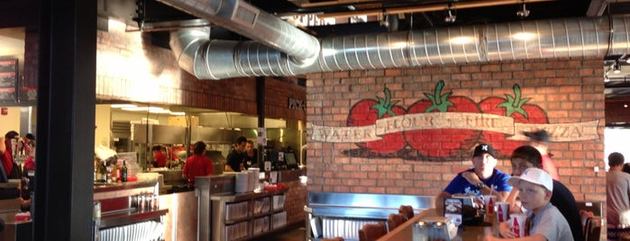 Toppers Pizza Place is one of Favorite Food.