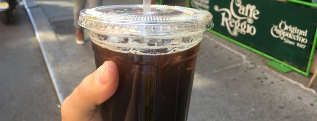 Caffe Reggio is one of The 17 Best Iced Coffee Drinks in NYC.