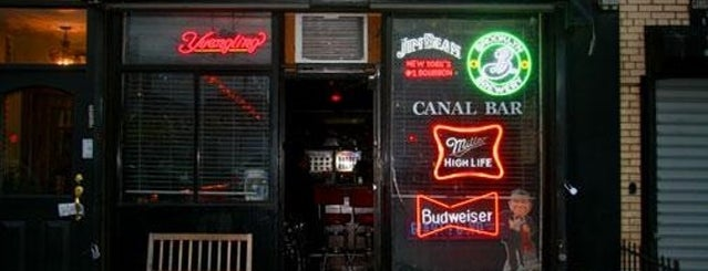 Canal Bar is one of Bars.