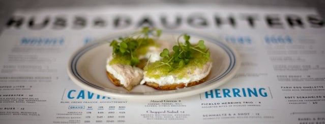 Russ & Daughters is one of Eat NYC.