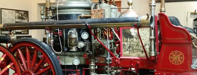 NYC Fire Museum is one of Unusual Museums in Manhattan.