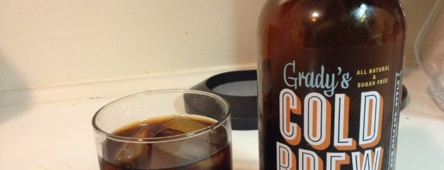 Grady's Cold BrewCo is one of The 17 Best Iced Coffee Drinks in NYC.