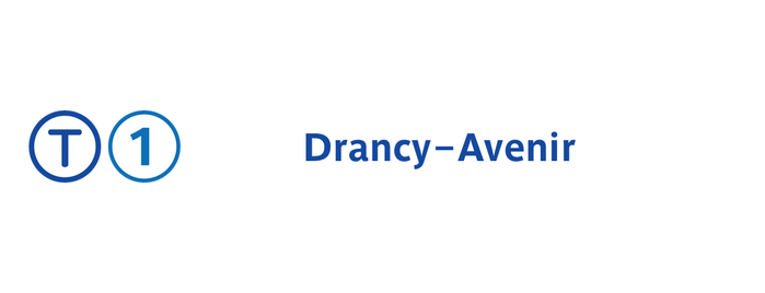 Station Drancy—Avenir [T1] is one of Tramway T1.