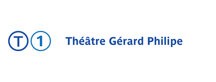 Station Théâtre Gérard Philipe [T1] is one of Tramway T1.