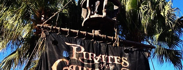 Pirates of the Caribbean is one of Walt Disney World.