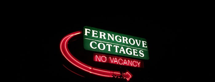 Fern Grove Cottages is one of Especially Pet-Friendly Wine Road Members.
