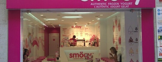 Smöoy is one of Smöoy Frozen Yogurt.