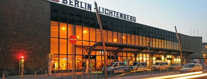 Bahnhof Berlin-Lichtenberg is one of Ausgewählte Bahnhöfe.