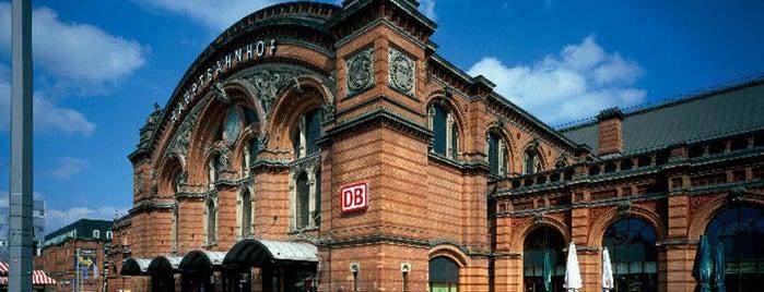 Bremen Hauptbahnhof Is One Of