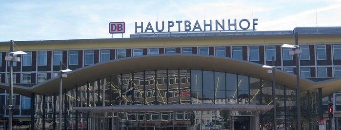 Bochum Hauptbahnhof is one of Top 40 Foursquare Bahnhöfe.