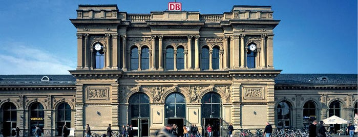 Mainz Hauptbahnhof is one of visited stations.