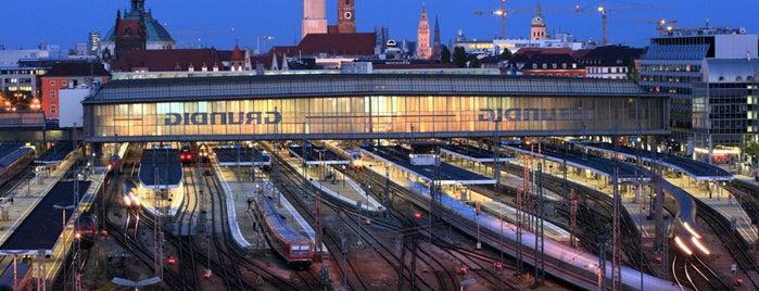 München Hauptbahnhof is one of Top 40 Foursquare Bahnhöfe.