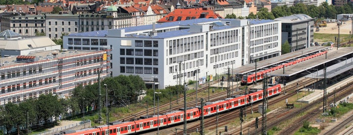 Bahnhof München Ost (S+U Ostbahnhof) is one of Top 40 Foursquare Bahnhöfe.