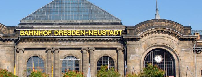 Bahnhof Dresden-Neustadt is one of Ausgewählte Bahnhöfe.
