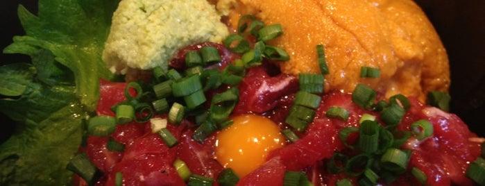 魚菜 はざま is one of 月島もんじゃレス.