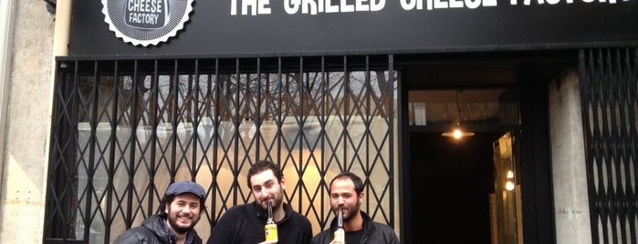 The Grilled Cheese Factory is one of PARIS.