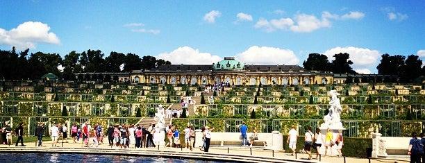 Park Sanssouci is one of Berlin.