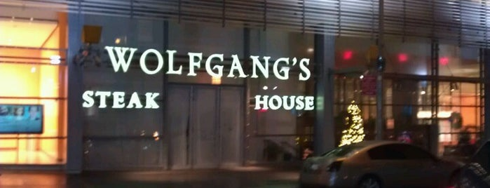 Wolfgang's Steakhouse is one of NYC Media Bars.