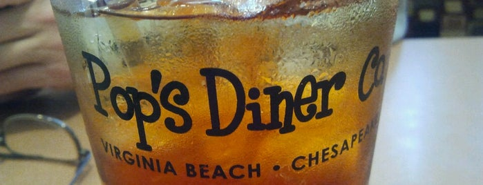 Pop's Diner Co. is one of The 15 Best Places with Good Service in Chesapeake.