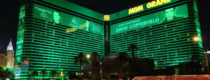 MGM Grand Hotel & Casino is one of @MJVegas, Vegas Life Top 100.