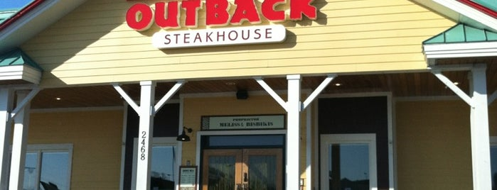 Outback Steakhouse is one of Favorite Restaurants.
